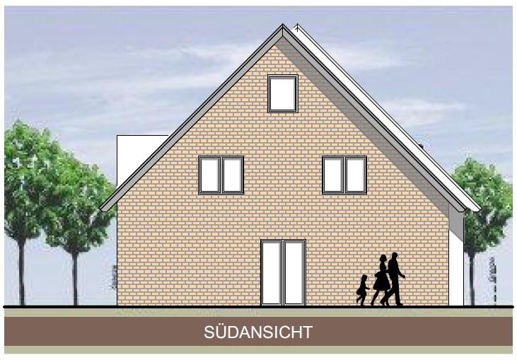 Neubau-Reihenendhaus mit Feldblick zwischen Heiden und Marbeck!
