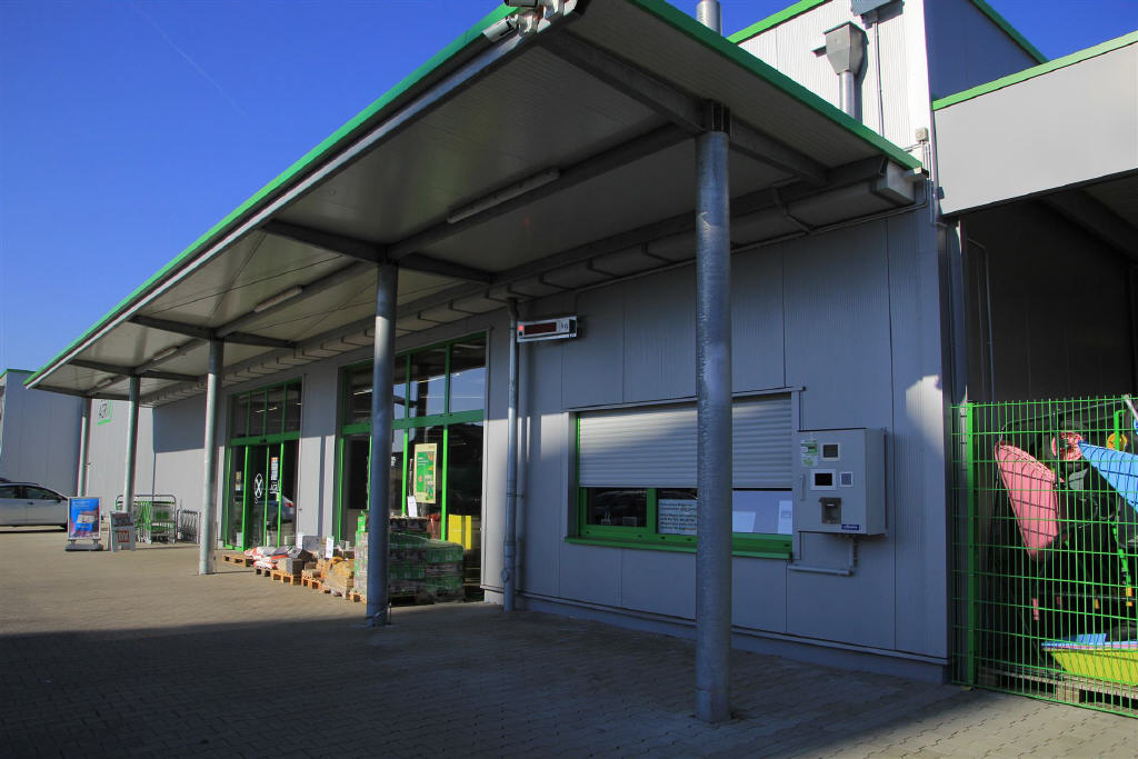 Erstklassige Verkaufs- und Ausstellungshalle in Südlohn!