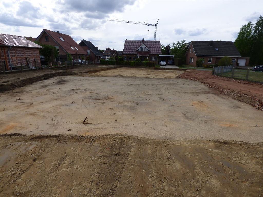 Neubau eines Einfamilienhauses oder zwei getrennter Wohneinheiten – Rohbau in Bahnhof Reken