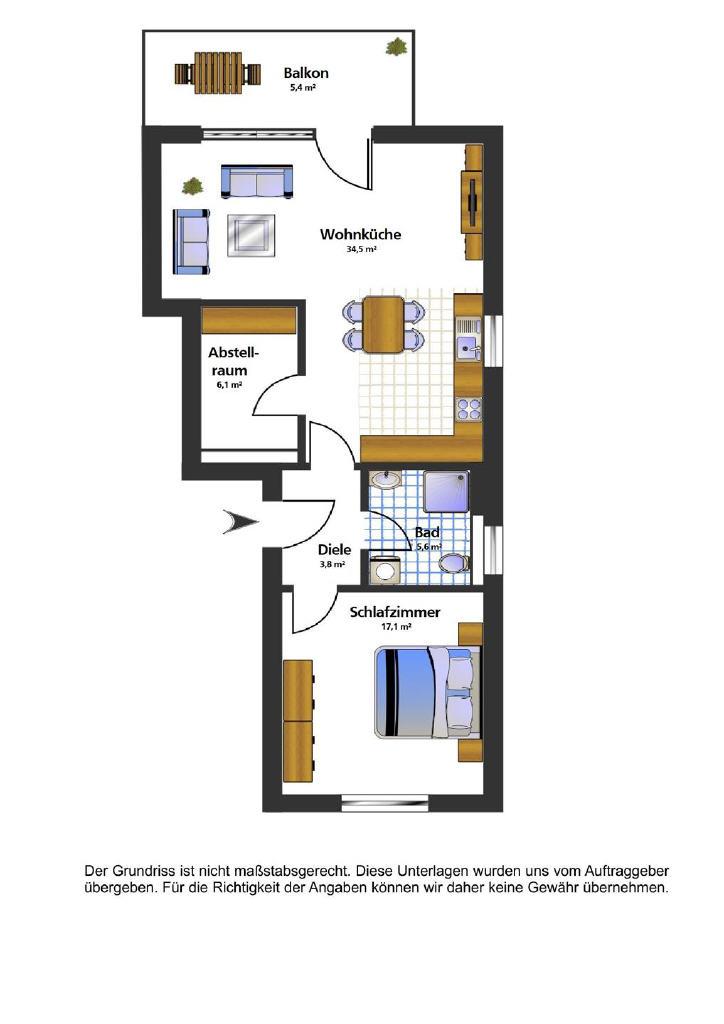 SÜDLOHN OEDING – Schlüsselfertige Neubauwohnung mit Balkon