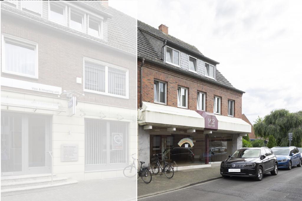 Stadtlohner Historie im Kern getroffen! Wohn- und Geschäftshaus zu verkaufen