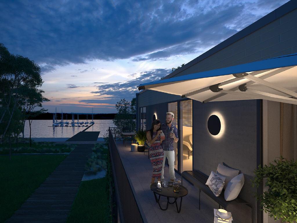 Urlaub im eigenen Land mit Mietgarantie für Sie als Investor: Ferienimmobilien am Dümmer See!