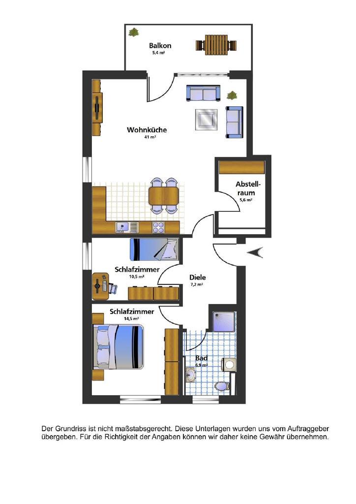 SÜDLOHN OEDING – Schlüsselfertige Drei-Zimmer-Neubauwohnung