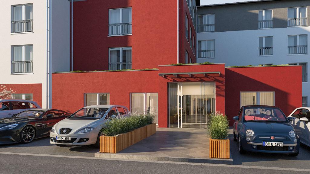 Pflegeappartements mit ca. 3,30 % Rendite und KfW-55-Standard in Neubrandenburg!