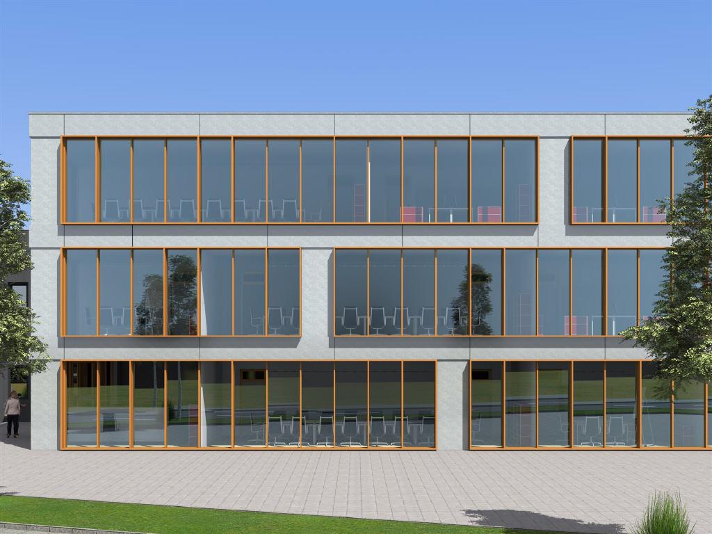 Büroflächen im 2. Obergeschoss mit Dachterrasse!