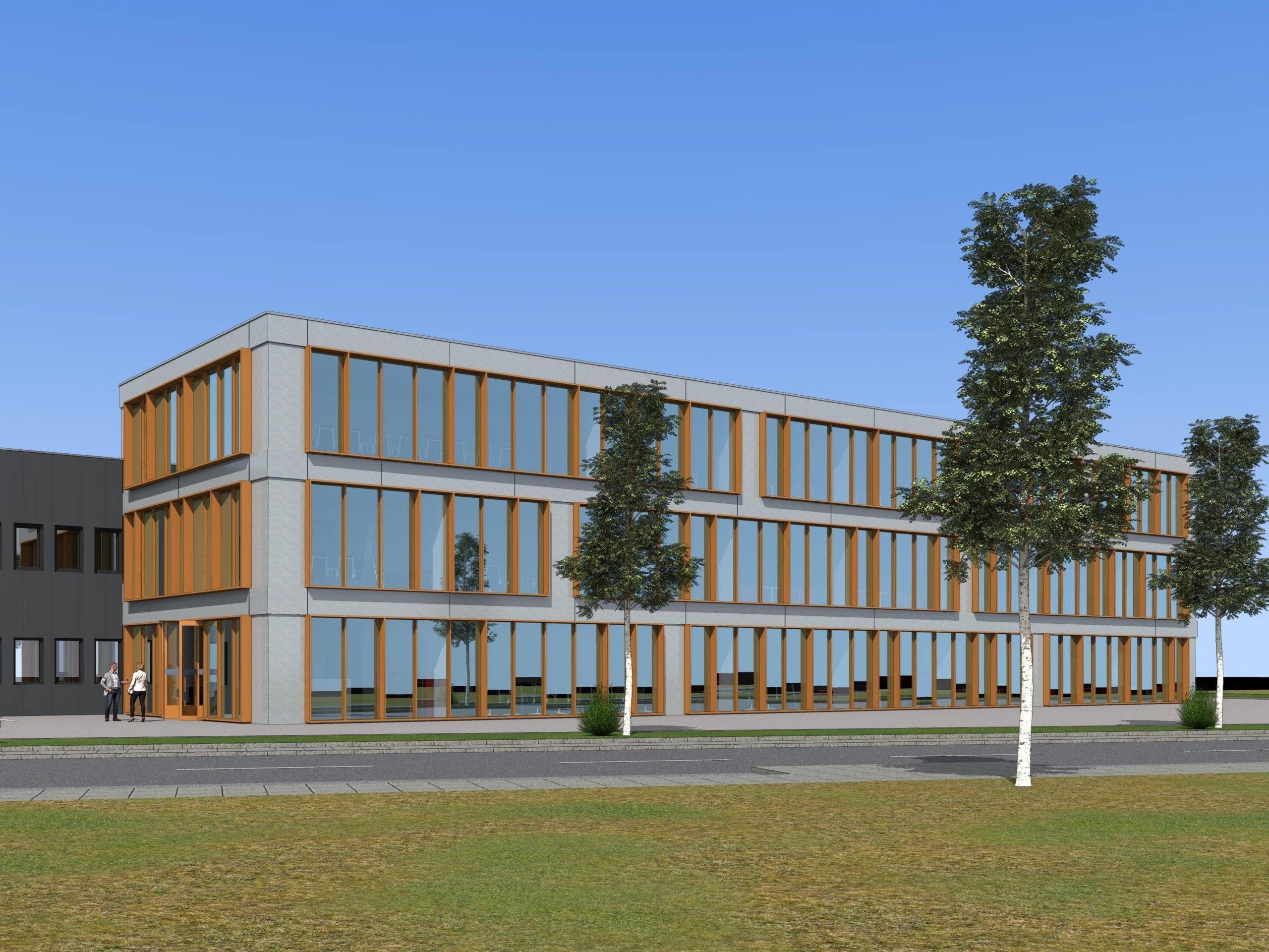Moderne Büroflächen im Erdgeschoss in Rhede zu mieten!