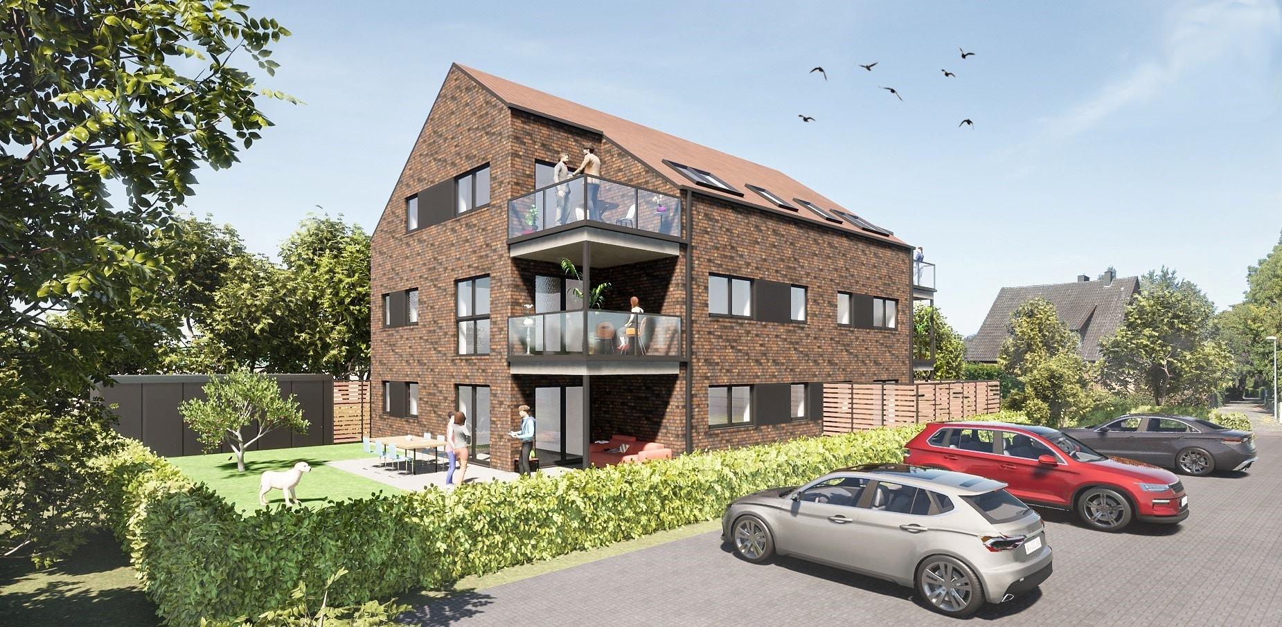 Wenn das Beste gerade gut genug ist! Neubau-Dachgeschosswohnung in Coesfeld