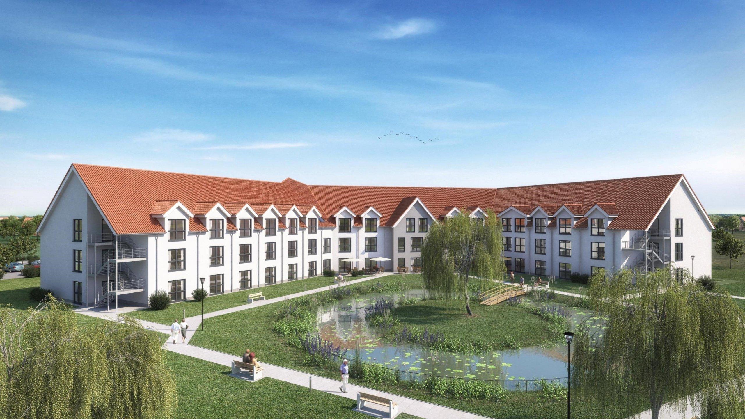 Pflegeappartements in Alpen-Veen: KfW-55-Standard und attraktive Rendite!