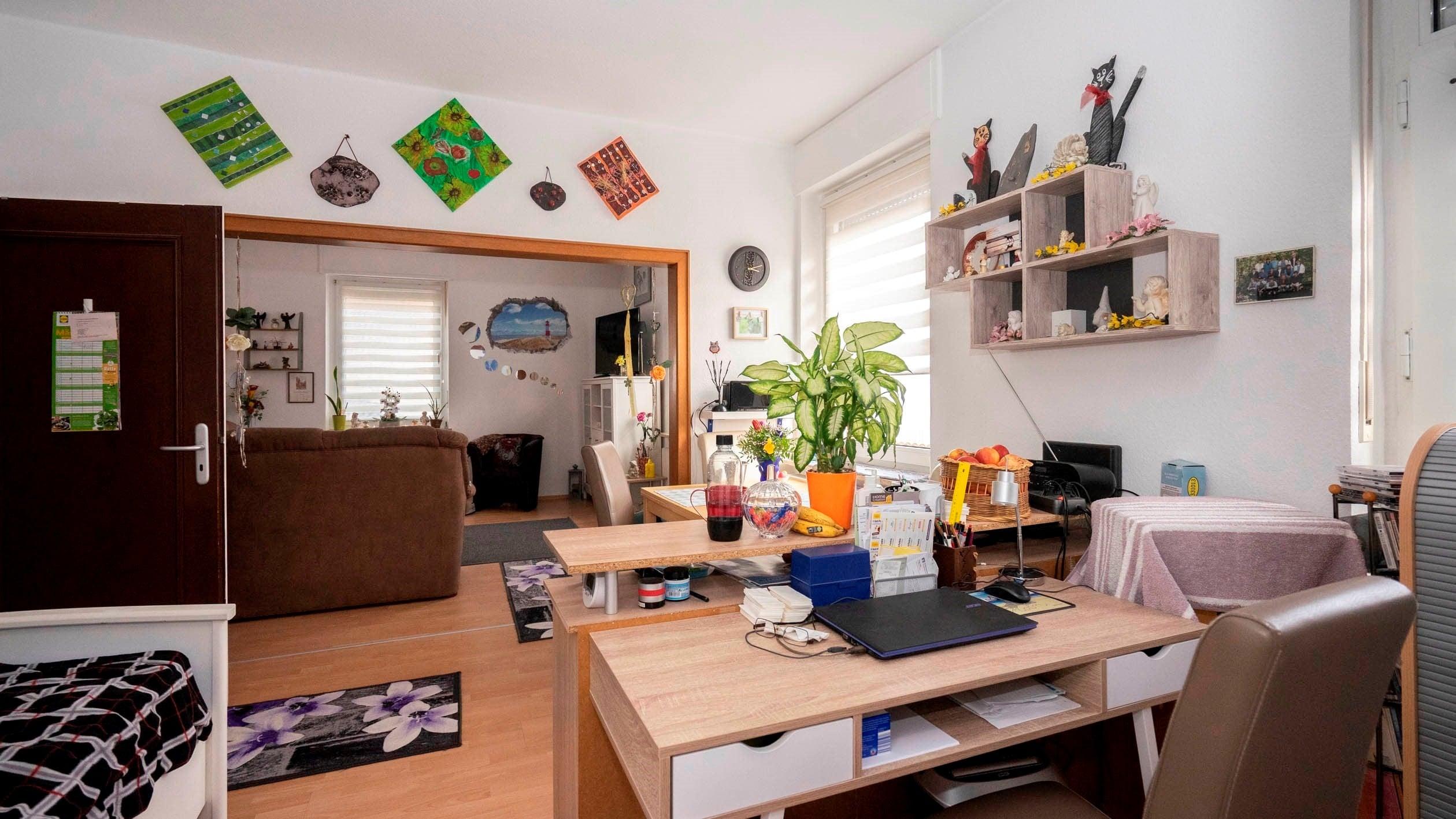 SÜDLOHN – Vermietete Erdgeschosswohnung in innenstadtnaher Lage mit Garten