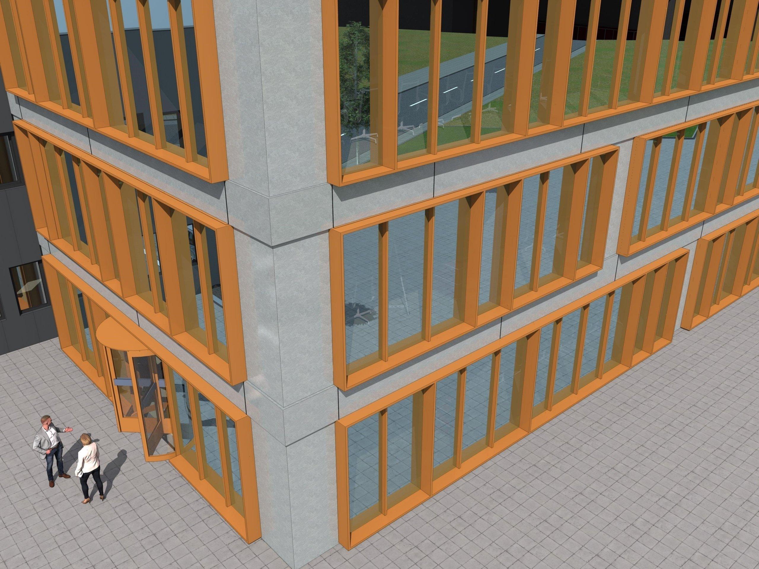 Erstbezug – moderne Büroflächen im Erdgeschoss in Rhede zu mieten!
