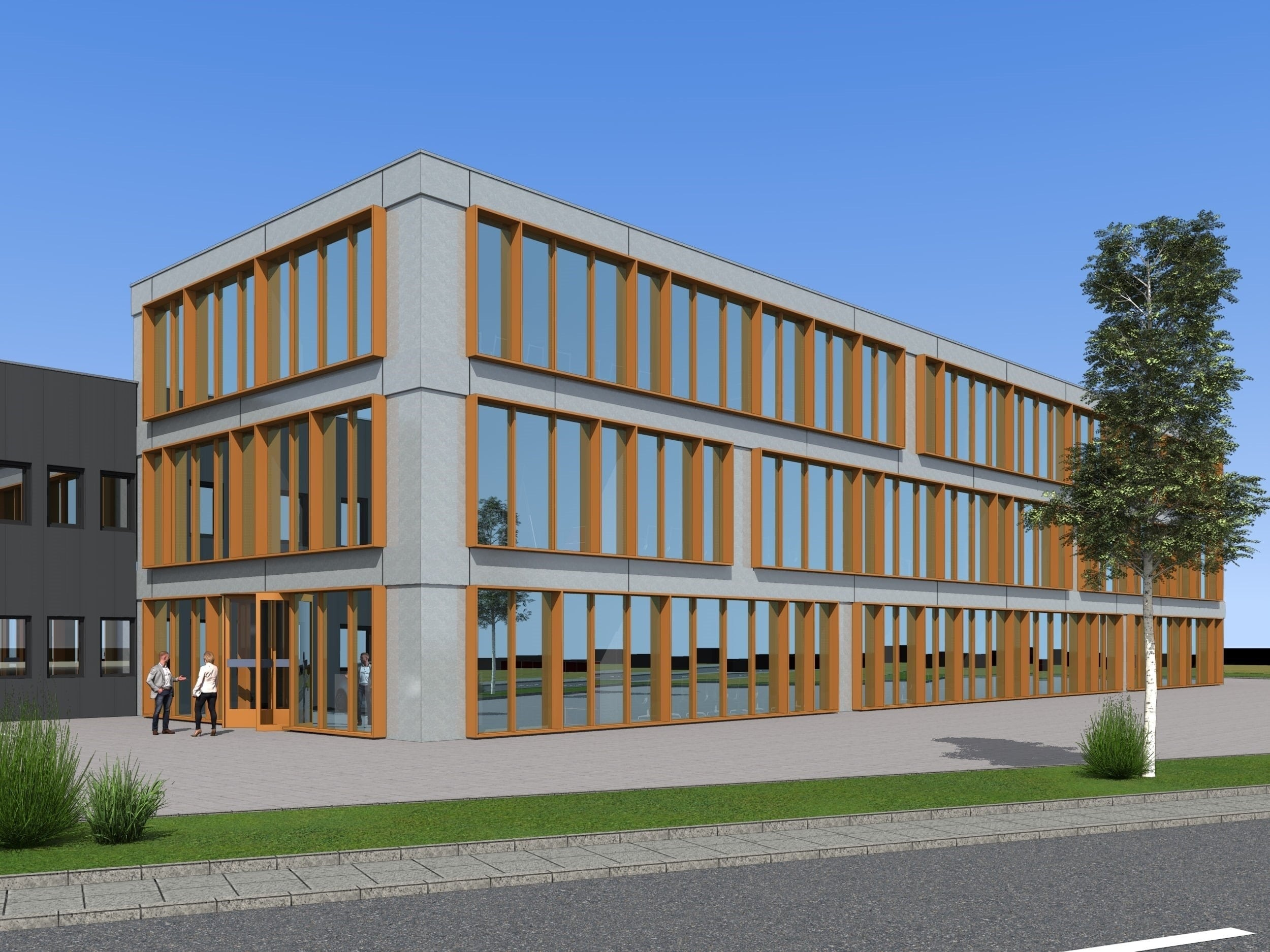 Erstbezug! Individuelle und moderne Bürofläche im 1. Obergeschoss in Rhede!