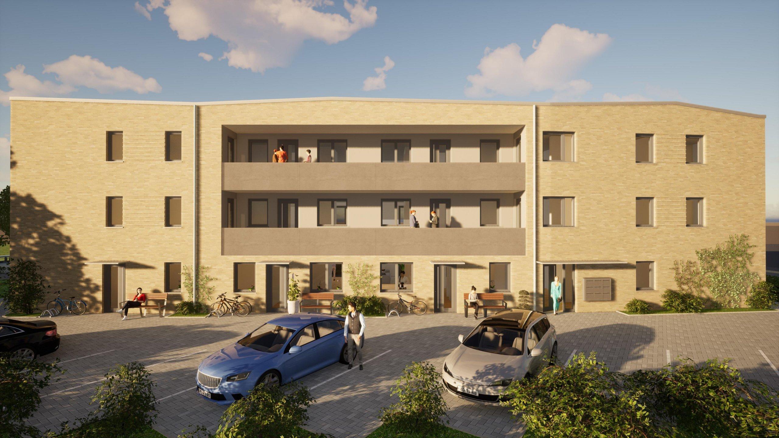 Ihre Belohnung für langes Suchen! Neubau-Obergeschosswohnung in Coesfeld