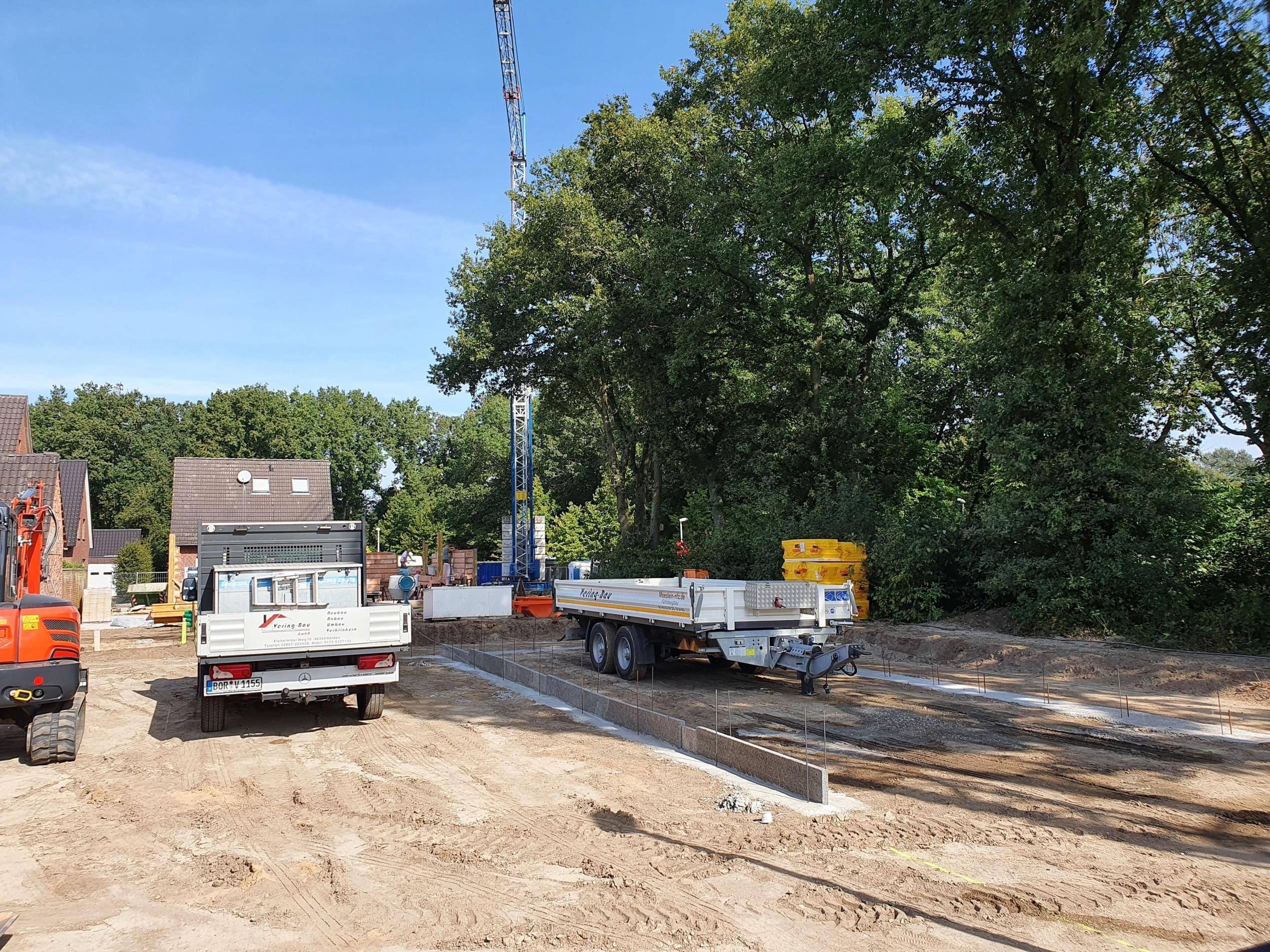 Haus am See! Neubau-Doppelhaushälfte in Borken-Hoxfeld! – Schlüsselfertige Bauausführung –